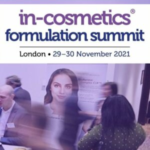 Sustainability and Well-being in Personal Care & Cosmetics? The Formulation Summit 2021